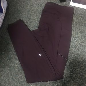 Mauve Lululemon leggings
